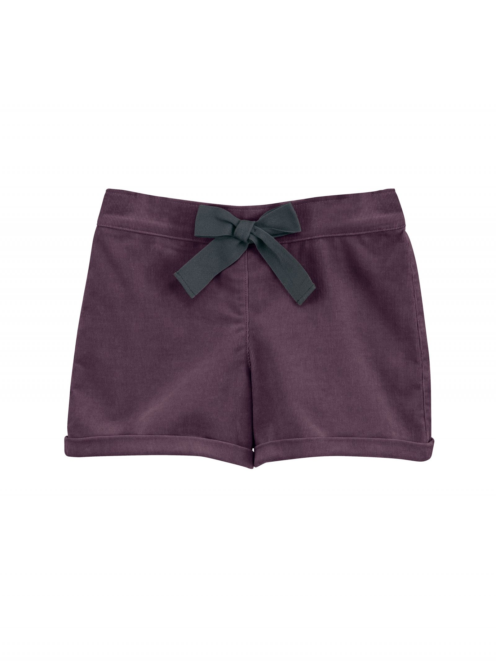 Shorts in Burgundy - Front