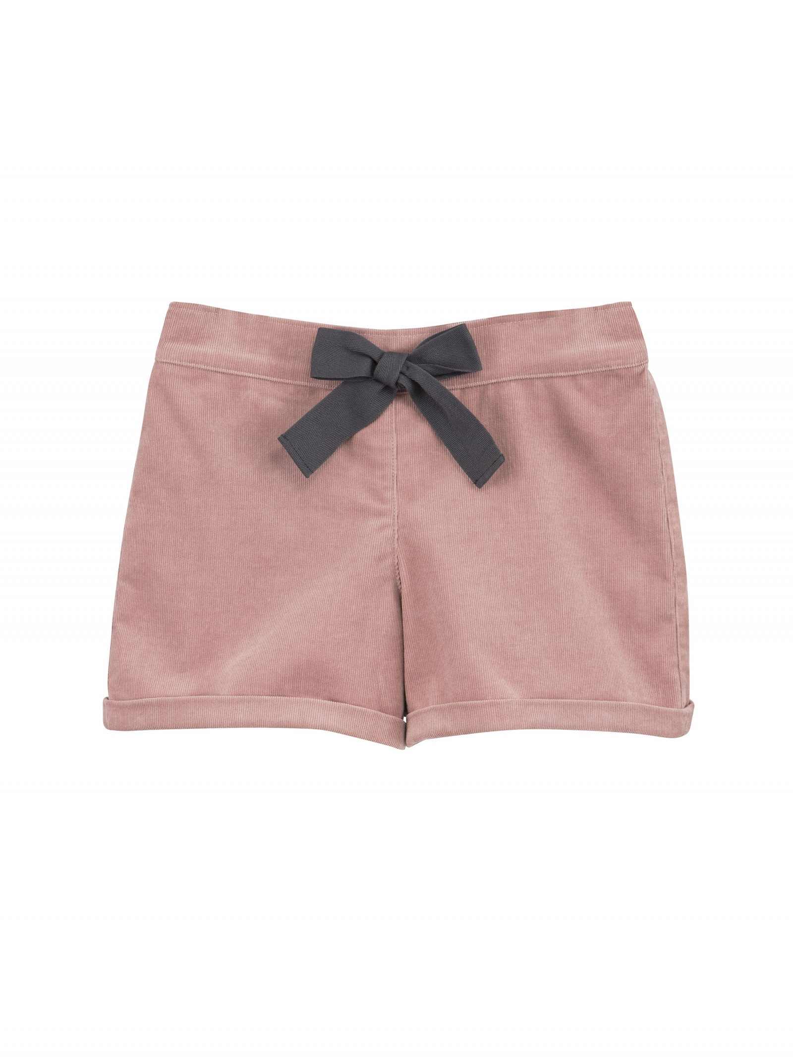 Charlotte Cord Shorts in Pink - Front
